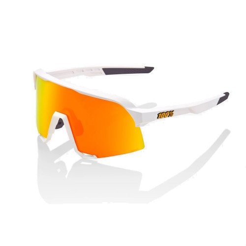 100% - S3 - SOFT TACT WHITE - HiPER RED MULTILAYER MIRROR LENS