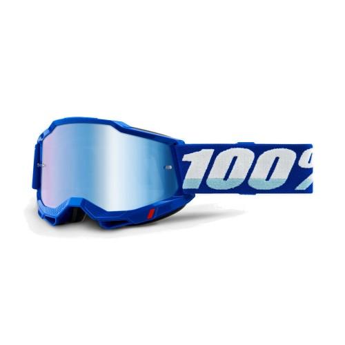 100% - ACCURI 2 - BLUE MIRROR BLUE LENS