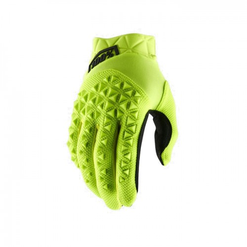 100% - AIRMATIC GLOVE - FLUO YELLOW BLACK