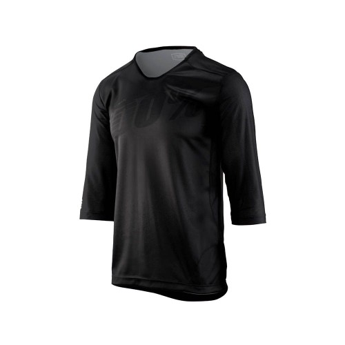 100% - AIRMATIC JERSEY - 3/4 BLACK