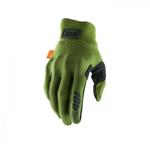 100% - COGNITO GLOVE - ARMY GREEN BLACK