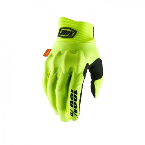 100% - COGNITO GLOVE - FLUO YELLOW BLACK