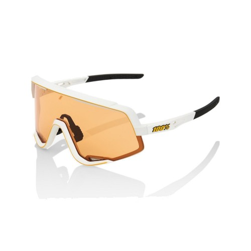 100% - GLENDALE - SOFT TACT OFF WHITE SOFT PERSIMMON LENS