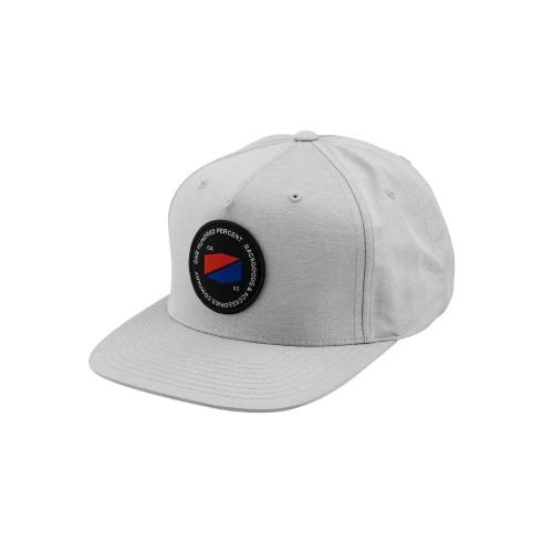 100% - HAT - JEFFERSON SNAPBACK GREY