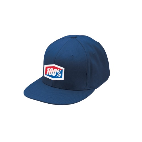 100% - HAT - OFFICIAL J-FIT NAVY
