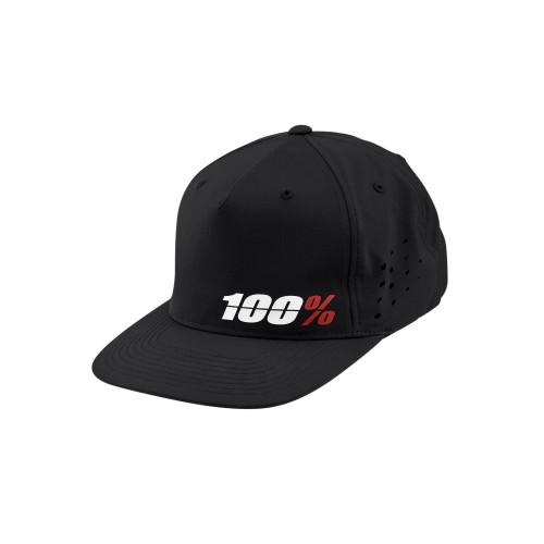 100% - HAT - OZONE SNAPBACK BLACK