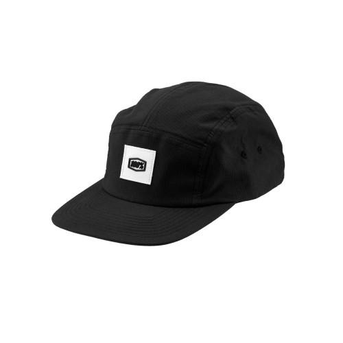 100% - HAT - PRENEZ CAMPER HAT BLACK