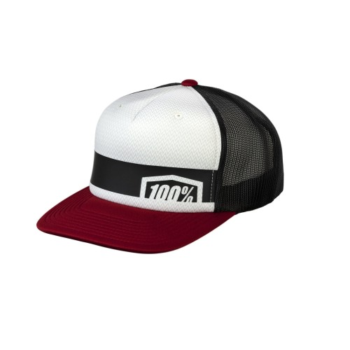 100% - HAT - QUEST TRUCKER BRICK
