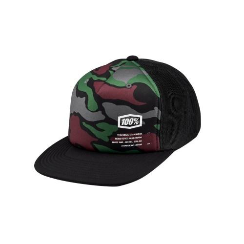 100% - HAT - TROOPER TRUCKER HAT CAMO