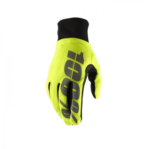 100% - HYDROMATIC - WATERPROOF GLOVE NEON YELLOW