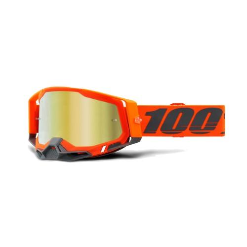 100% - RACECRAFT 2 - KERV MIRROR GOLD LENS