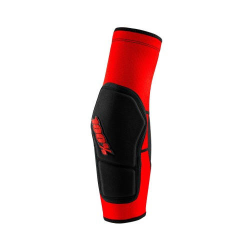 100% - RIDECAMP ELBOW GUARD RED BLACK