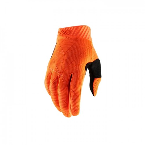 100% - RIDEFIT GLOVE - FLUO ORANGE BLACK