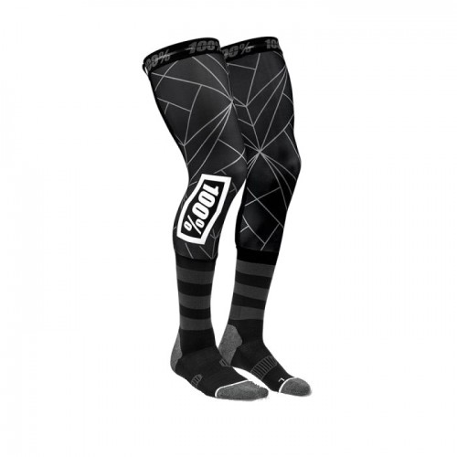 100% - SOCKS - REV PERFORMANCE MOTO SOCK - BLACK