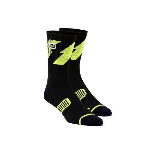 100% - SOCKS - BOLT PERFORMANCE SOCKS - LIME