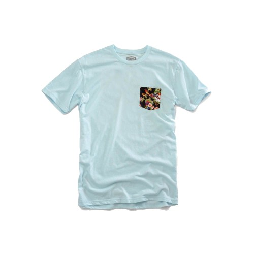 100% - SHIRT - CHAPTER 11 TSHIRT ICE BLUE