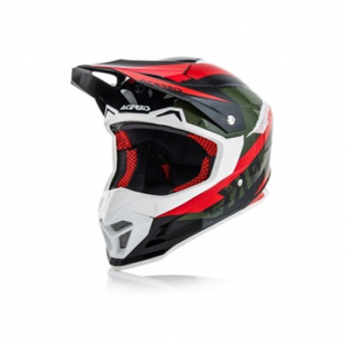 ACERBIS - PROFILE 4.0 HELMET - BLACK RED