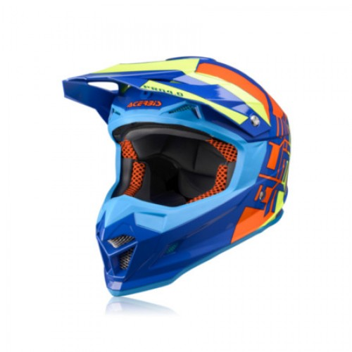 ACERBIS - PROFILE 4.0 HELMET - ORANGE YELLOW