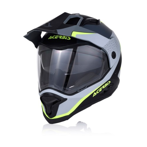 ACERBIS - HELMET REACTIVE GRAFFIX - BLACK GREY