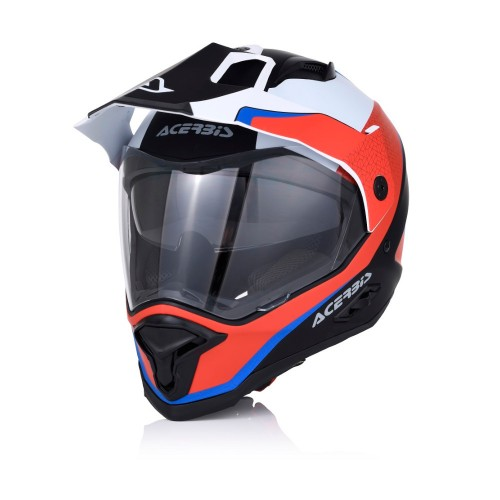 ACERBIS - HELMET REACTIVE GRAFFIX - RED WHITE
