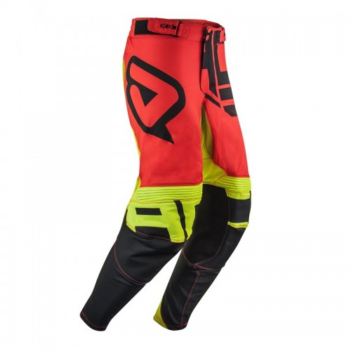ACERBIS - ALPHA X-FLEX PANTS - BLACK RED