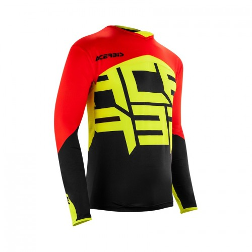 ACERBIS - ALPHA X-FLEX JERSEY - BLACK RED
