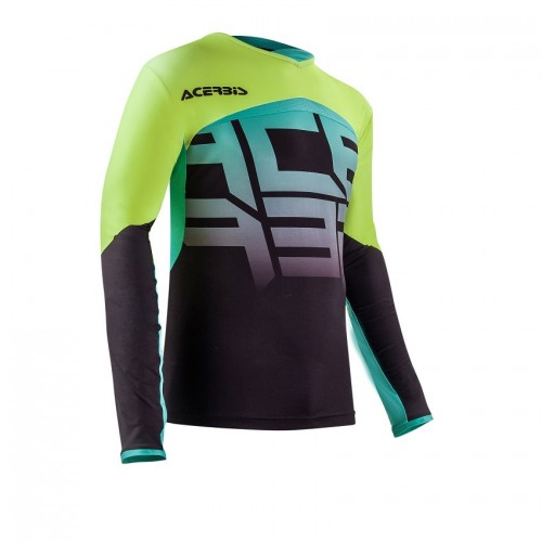 ACERBIS - OMEGA X-FLEX JERSEY - BLACK YELLOW