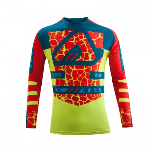 ACERBIS - WILDFIRE JERSEY - RED YELLOW