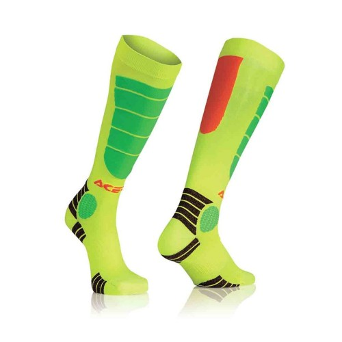 ACERBIS - MX IMPACT SOCK - ORANGE YELLOW