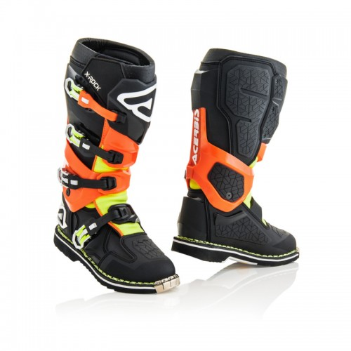 ACERBIS - X-ROCK - BLACK ORANGE FLUO