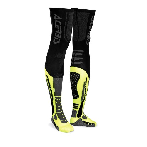 ACERBIS - MX SOCKS X-LEG  - BLACK YELLOW