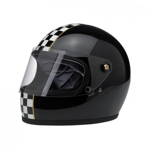 BILTWELL - GRINGO S - LE CHECKER GLOSS BLACK