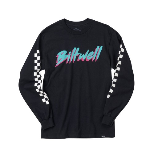 BILTWELL - 1985 LONG SLEEVE T-SHIRT BLACK