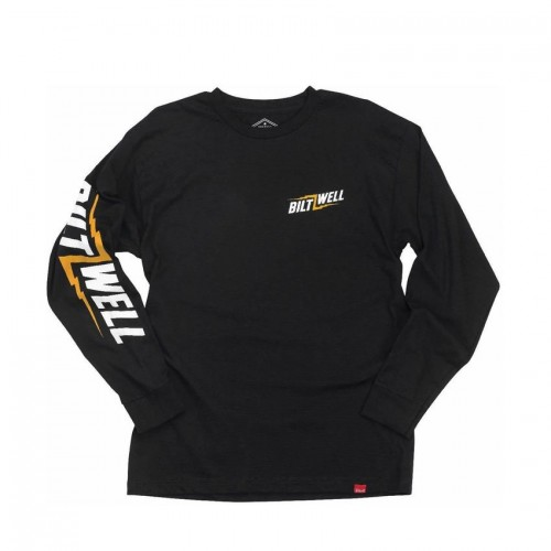 BILTWELL - BOLT LONG SLEEVE T-SHIRT BLACK