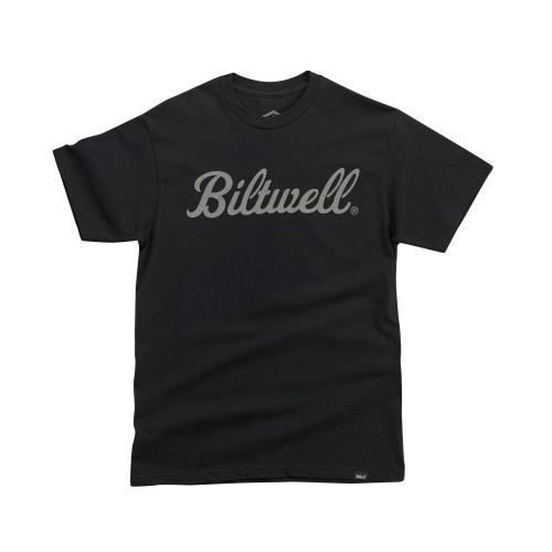BILTWELL - SCRIPT T-SHIRT BLACK