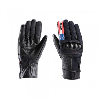BLAUER COMBO DENIM GLOVE