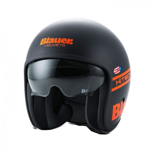 BLAUER - PILOT 1.1 - BLACK MATTE ORANGE FLUO