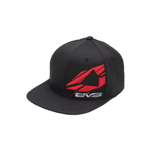 EVS - HAT - SHATTERED HAT FLEXFIT BLACK