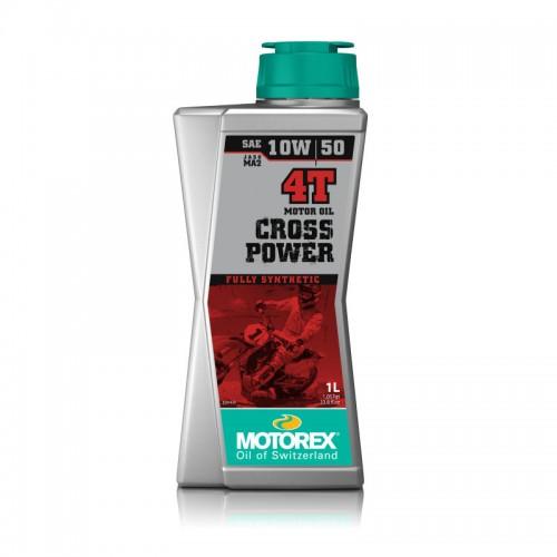 MOTOREX - CROSS POWER 4T 10W/50 1L MOTOR OIL
