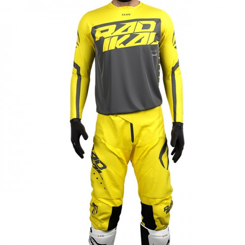 RADIKAL RACING - FITLINE ELITE JERSEY SET YELLOW