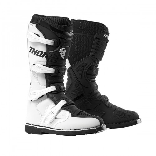 THOR - BLITZ XP - WHITE/BLACK BOOTS