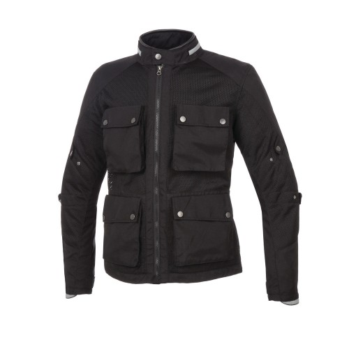 TUCANO URBANO - FIELD JACKET MULTITASK - BLACK