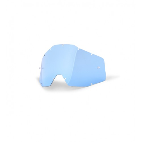 100% - RACECRAFT / ACCURI / STRATA ANTIFOG BLUE LENS