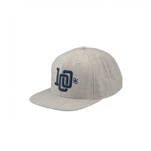 100% - HAT - COLLEGE GREY