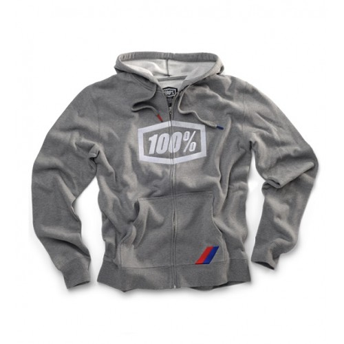 100% - FLEECE - SYNDICATE GREY (MODERN FIT)