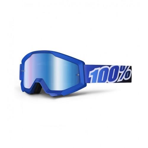 100% - STRATA - BLUE LAGOON MIRROR LENS