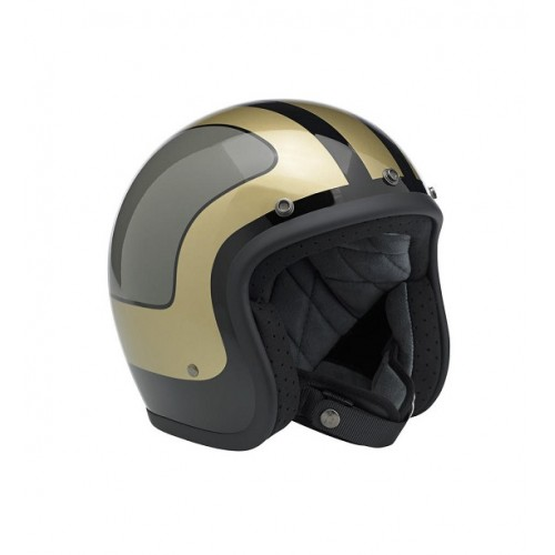 BILTWELL - BONANZA - LE FURY BLACK / GREY / GOLD