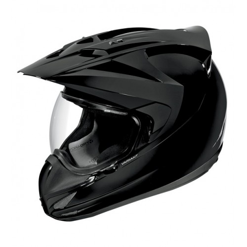 ICON - VARIANT - SOLID GLOSS BLACK