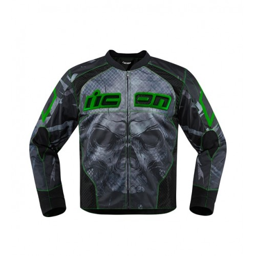 ICON - TEXTILE - OVERLORD REAVER JACKET GREEN