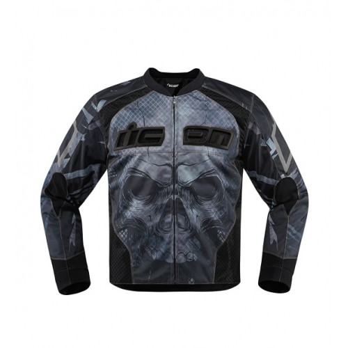 ICON - TEXTILE - OVERLORD REAVER JACKET BLACK